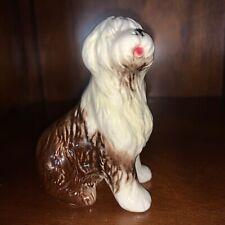 New listing Gobel Vintage Old English Sheepdog Porcelain Figurine W. Germany