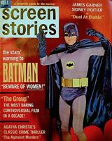 Batman Adam West 1966 Magazine Screen Stories Elvis James Garner James Coburn