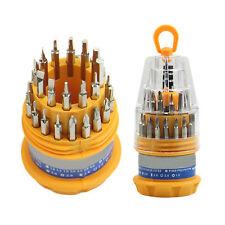 31 in 1 Mini Precision Set Schraubendreher Verhexen Torx Reparatur-Werkzeug-Kit