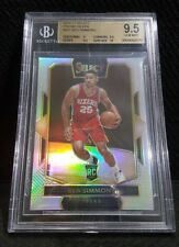 SELECT BEN SIMMONS COURTSIDE SILVER PRIZM ROOKIE RC SSP REFRACTOR BGS 9.5 GEM MT