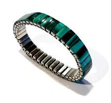 Bijou bracelet Malachite au choix  largeur 1 cm ou 1,5 cm idéal cadeau bangle