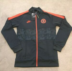NWT Nike 2019-20 Chelsea I96 FC Soccer Track Jacket BV2605-060 Men's Size Small