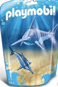 Playmobil Schwertfisch Baby Aquarienhaus Familie Zootiere Tier Hai Fisch Neu