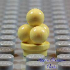 NEW Lego Light Yellow VANILLA ICE CREAM - Friends Minifig Kitchen Dessert  Food