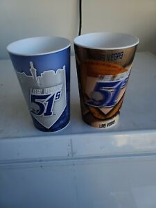 Las Vegas 51's Large Hologram Cups Set Of 2