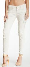 J Brand Grayson Skinny Cargo Pant Chalk 30 NWT $262