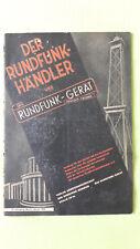 Der Rundfunkhändler und Das Rundfunkgerät, Manfred von Ardenne, Jan. 1944, 21.Jg