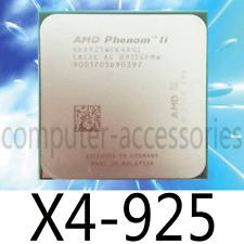 AMD Phenom II X4-925 2.8GHz 6MB L3 Cache Socket AM3 CPU Processor