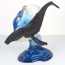 Humpback Wal Nautisch Skulptur Figur Statue Wohndeko Sammlerstück