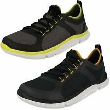 MENS CLARKS LACE UP CASUAL EVERYDAY LIGHTWEIGHT TRAINERS SHOES TRIKEN ACTIVE