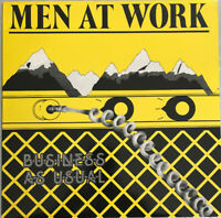 MEN AT WORK BUSINESS AS USUAL LP EPIC UK 1981 PRESS ARCHIVE CONDITION PRO CLEAN