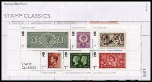 2019 GB Stamp Classics Royal Mail Presentation Pack No.566
