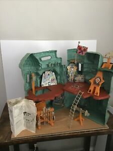 1981 He-man Masters Of The Universe Castle Grayskull Playset Complete