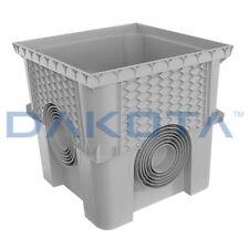 Pozzetto monolitico plastica PP 20X20X20 con coperchio SMART DAKOTA x cavi tubi