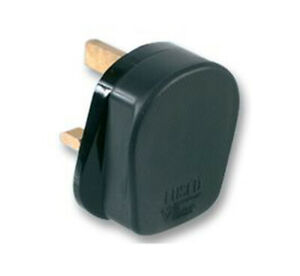 Rubber UK Mains Plug 13A in Various Pack