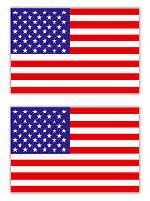 2x Aufkleber USA Amerika Flagge Fahne Stars and Stripes Sternenbanner 5cm