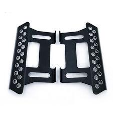 Metal Side Peda Step for 1/10 Rc Climbing Crawler Car Axial Scx10 Upgrade#Black