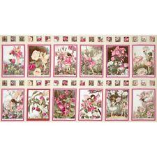 Blossom Flower Fairies Michael Miller Cotton Quilting Fabric Panel
