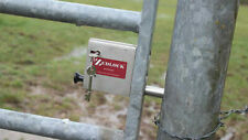 ZEDLOCK HIGH SECURITY GATE LOCK FOR METAL FIELD GATES FULL KIT 70MM THROW BOLT