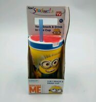 Snackeez! Jr. Despicable Me Minion Made 2 in 1 Snack & Drink Cup Holder Minions