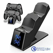 OIVO PS4 Controller Charger Dock Station, PS4 Dual Shock 4 Fast Charger Docking
