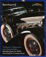 Bonhams Auction Catalog Automobile June 2010 Greenwich Connecticut