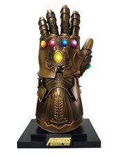 Metal Super Villains Cosplay Infinity Gloves Wearable Gauntlet 1:1 Replica Props