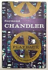 Playback - Raymond Chandler Book Club Edition BCE 1958 HCDJ Philip Marlowe Crime