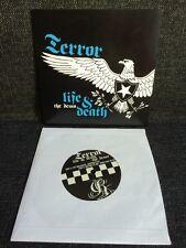 """Terror – Life And Death - The Demo 7"""" BLACK VINYL Reaper Records Hardcore"""