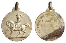 MEDAGLIA TORINO  41^  ESPOSIZIONE INTERNAZIONALE CANINA 1972 MOLTO BUONO #MD3982