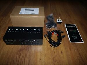 Burkey Guitar Electronics - Flatliner Pro Guitar Pedalboard Power Supply - Mint