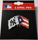 MLB NEW YORK YANKEES & PUERTO RICO FLAG PIN