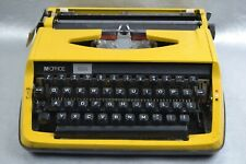 Travel Typewriter Case M.OFFICE 1200 Yellow Portable Machine Writer Publications