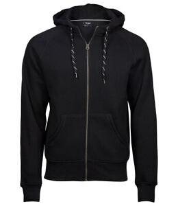 T5435Tee Jays Fashion Zip Hooded Sweatshirt Black