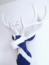 LARGE Unique decoration Stag Head Taxidermy Deer 'SCOTTISH SALTIRE'