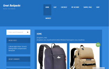School Bags Affiliate Website Free Installation+Hosting