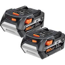 2x AEG 18v 5.0ah Pro Genuine Li-ion Battery