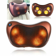 Shiatsu Heat Massage Pillow with Deep Kneading to Relax Neck, Back Shoulder Pain