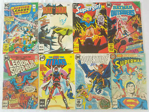 8 Australian Federal Comics 1970's 80's Batman Superman Wonder Woman + More
