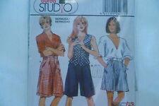 Vintage Burda Womens Bermudas Shorts size 36-54  Sewing Patterns no:4071