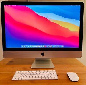 """2020 iMac 27"""" 5K 3.6GHz 10 Core Intel i9 8GB RAM 2TB SSD AMD 5700XT 16GB A2115"""