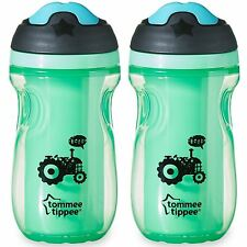 Tommee Tippee Easy Grip Sippee Cup 260ml (Set of 2) BPA free (Green)