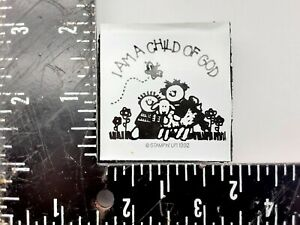 Stampin up Foam Mounted Rubber Stamp I am a child of God