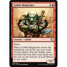 lot de 3 Meneur gobelin (Ringleader) Duel Deck Merfolk VS Goblins Magic MTG