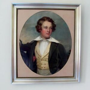 Portrait of a young man,19th century Circle of Thomas Jones Barker
