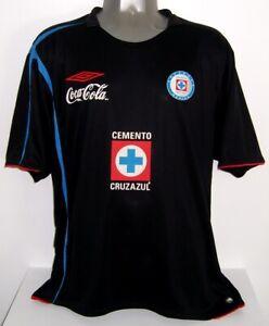 UMBRO CRUZ AZUL CHELITO THIRD BLACK 2006 XL ORIGINAL JERSEY SHIRT