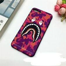 A Fashion Bathing Ape Camo Bape Fashion Soft Case Cover for iPhone6 6s 7 8Plus