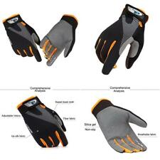 CFTech Cycling Gloves Touchscreen Ultimate Frisbee Large, B-Orange