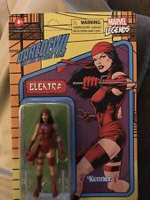 "Marvel Legends 3.75"" Retro Electra from Daredevil 1990 Hasbro/Kenner Unpunched"
