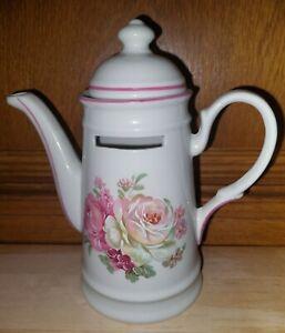 """Reutter  Porzellan ,,Kaffeekasse"""" Motiv : Blumen- Rosen"""